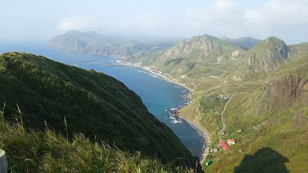 礼文島トレッキングコース景観