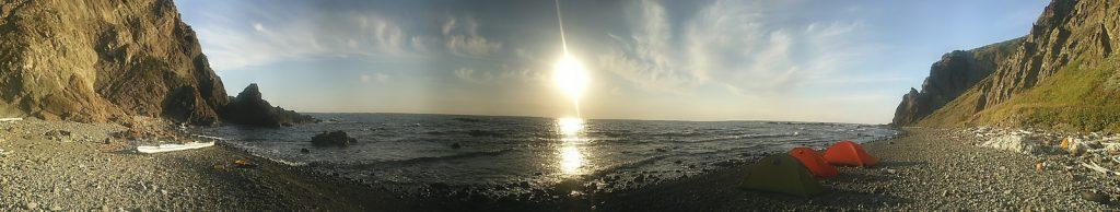 礼文島の西海岸