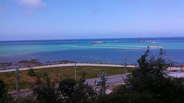 沖縄ホテルからの眺め