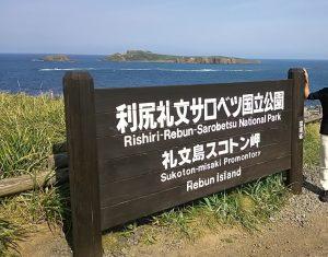 礼文島スコトン岬