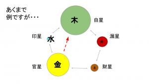 五行バランスシート参考図