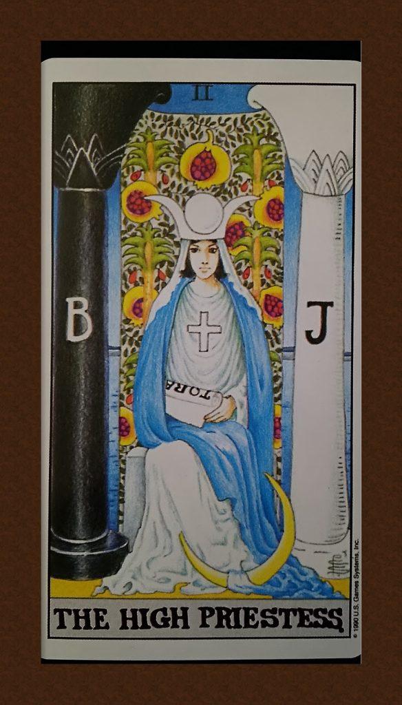 女教皇(THE HIGH PRIESTESS)大アルカナⅡ