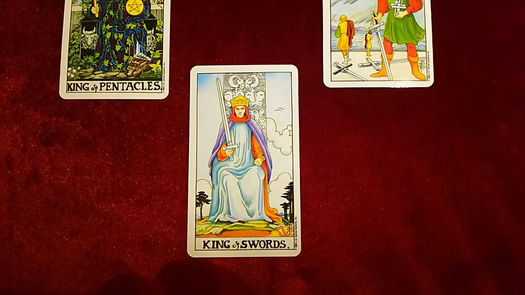 KING of SWORDS.