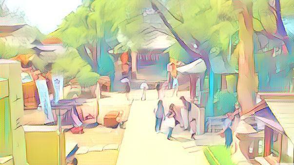東京・上野の五條天神社 病気平癒をお願いできることで有名