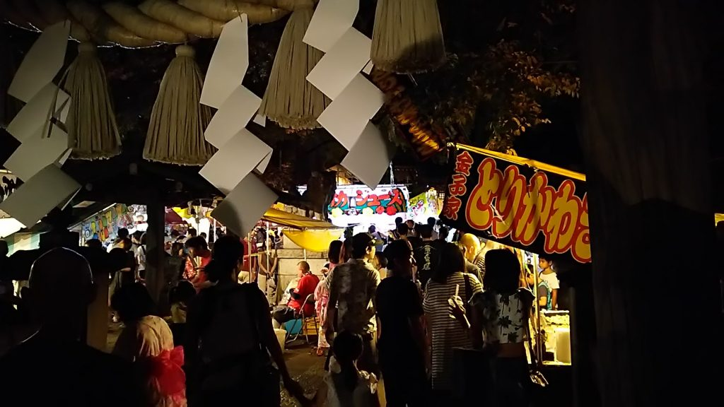 東京/豊島区・椎名町長崎神社お祭り