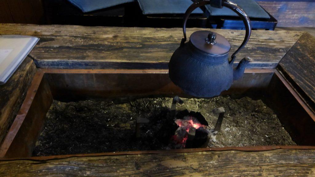 京都 桂離宮の拝観のあと 某茶屋にて